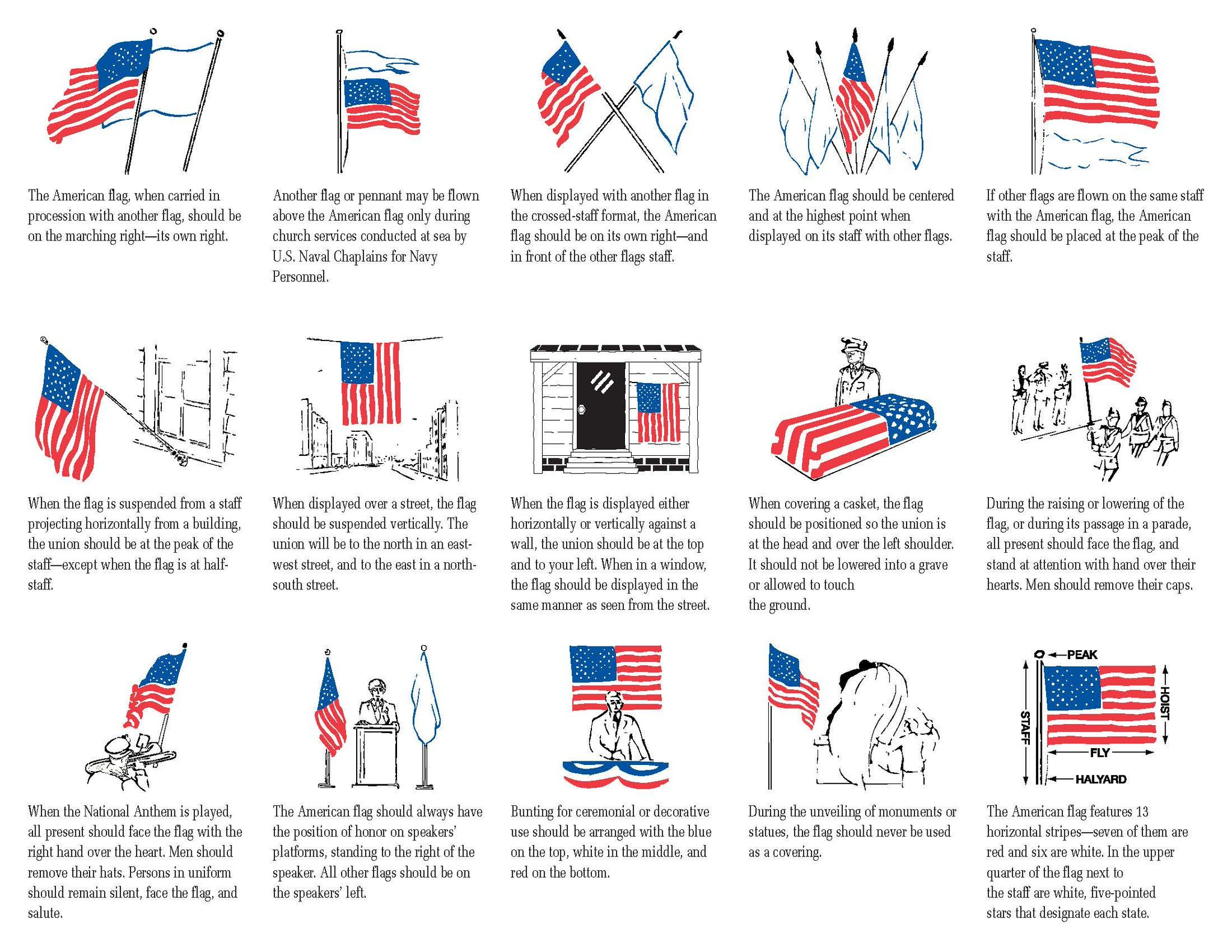 Wwp on twitter as we approach memorialday here are for Flag etiquette at home