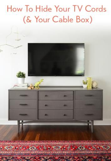 How To Hide TV Wires For A Cord-Free Wall