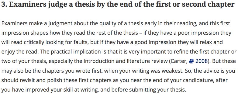 writing the first chapter of your thesis Trying to find top writing tips to help with your postgraduate thesis or contained in your thesis chapter 1 when writing your postgraduate thesis.