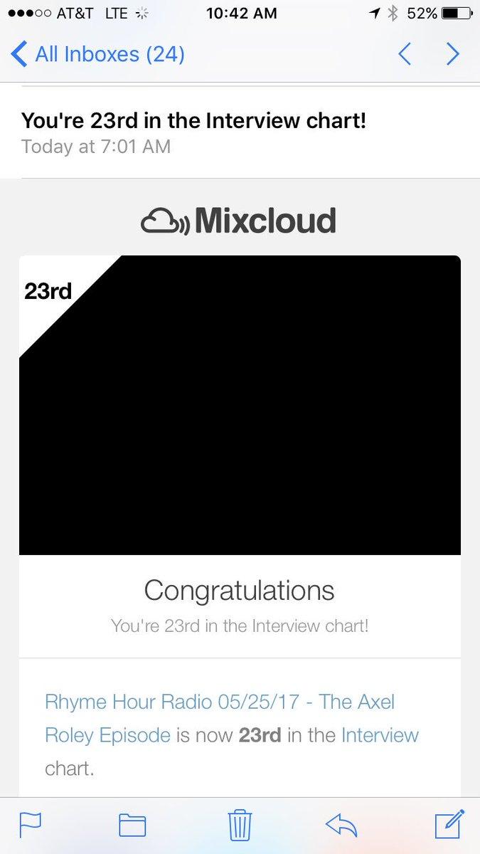 Up from 50. #RhymeHourRadio #Interviews #Radio  <br>http://pic.twitter.com/ffvHfoZBik