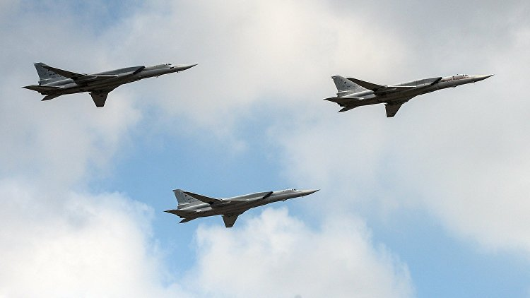 Дальние бомбардировщики ВКС России совершили полёт над Баренцевым и Норвежским морями