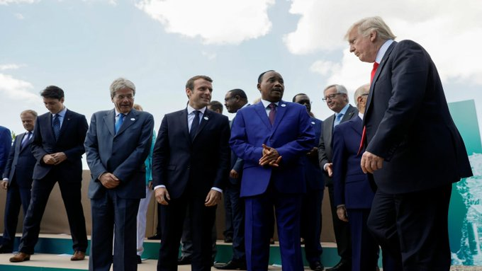 G7 summit ends without agreement on climate change https://t.co/n6jMjp3W59