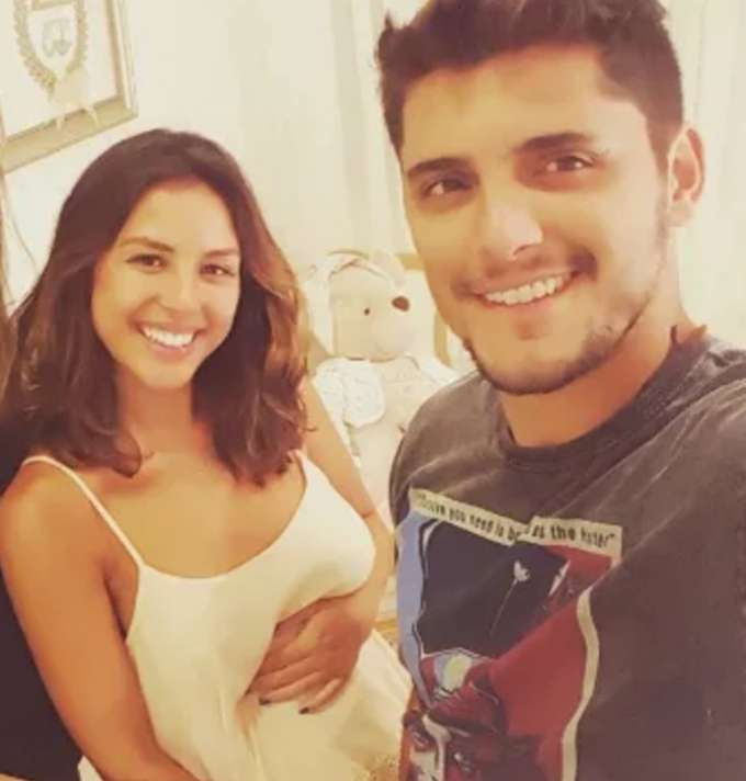 Bruno Gissoni posta primeira foto da filha, Madalena, nas redes https://t.co/Ech6NgB1MK