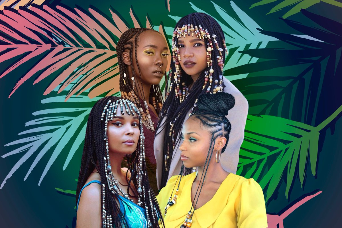Show us how you rock your braids with beads! ✨ #blackhairchallenge htt...