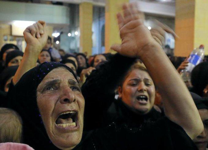 Egypt says air strikes destroy militant camps after attack on Christians https://t.co/hl4tIENTVz