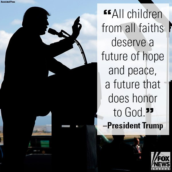 In his speech at Naval Air Station Sigonella, @POTUS offered a hopeful message of interfaith unity. https://t.co/kyIimmqigL