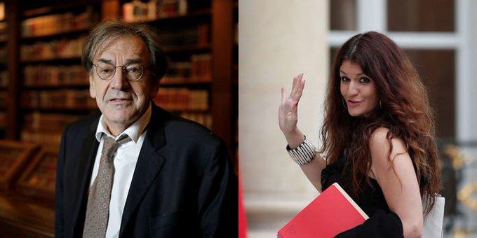 Voile à l'école : passe d'armes entre Alain Finkielkraut et Marlène Schiappa https://t.co/wEtUfhylR2