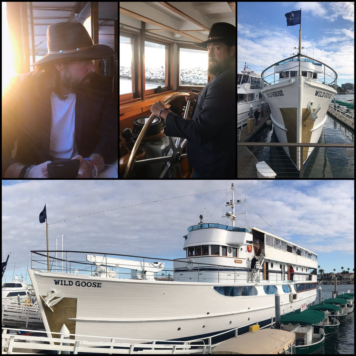 Great time supporting the @JoinJohnWayne  - got rocked out by @runawayjune aboard the Duke's #WildGoose#ShowYourGrit https://t.co/eb7DDxHaYT
