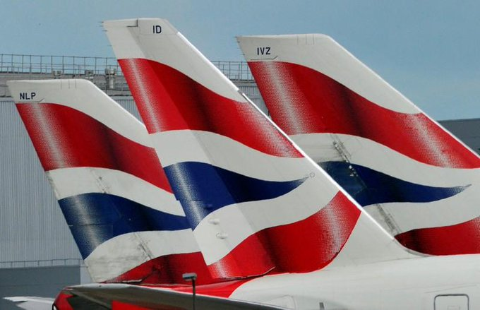 British Airways cancels flights from London as global IT outage causes chaos https://t.co/j27xSm7Acz