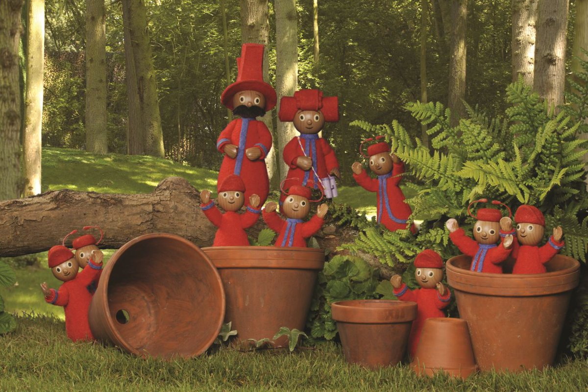 In The Night Garden On Twitter Flower Pots Pontipines Fun With