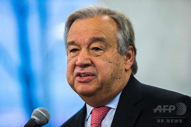 500RT:【安倍首相と会談】国連事務総長が慰安婦問題の日韓合意に「賛意」と「歓迎」表明 https://t.co/lbnIrWddb7  共謀罪法案を批判した国連特別報告者についても「その主張は必ずしも国連の総意を反映するものではない」と述…