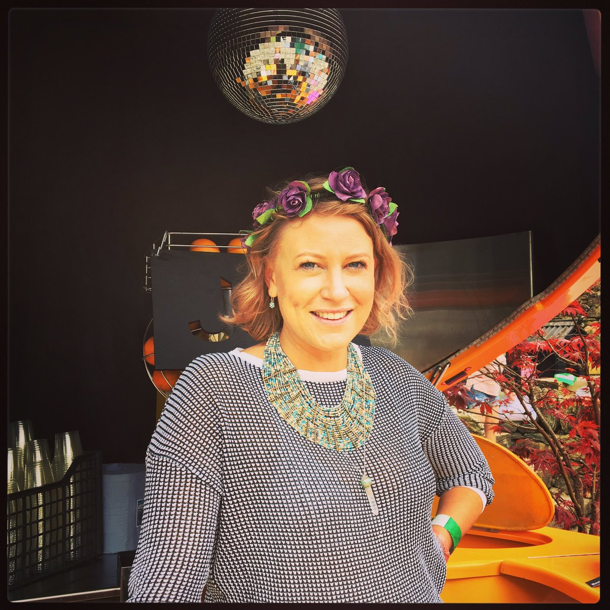 This wonderful lady is spending #MhorFest17 inside a giant orange keeping everyone topped up with #gin &amp; #juice  join us #Festival #Scotland<br>http://pic.twitter.com/MkXnkFlJxC