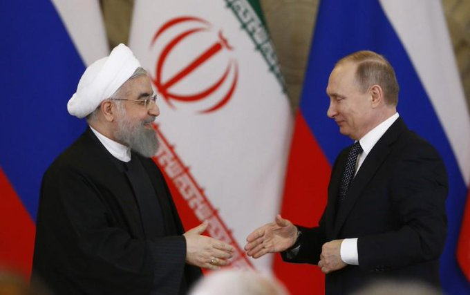 Putin discusses Syria, economic ties with Iran's Rouhani: Kremlin https://t.co/UoSY46j8Ba