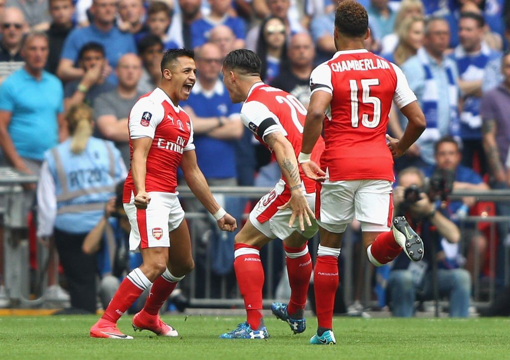 Sanchez has broken silence on Arsenal future after Wembley win