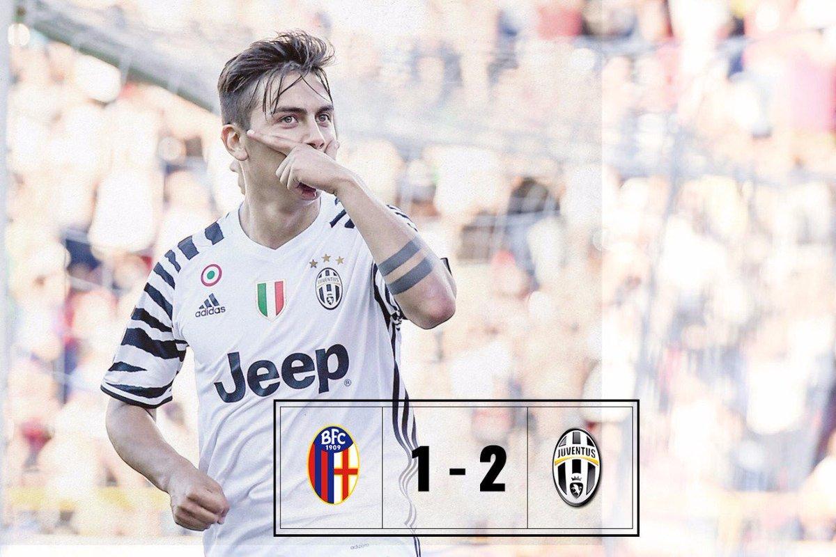 "Bologna-Juventus 1-2, la Juve saluta con Dybala e Kean: ""Arrivederci a Cardiff"""