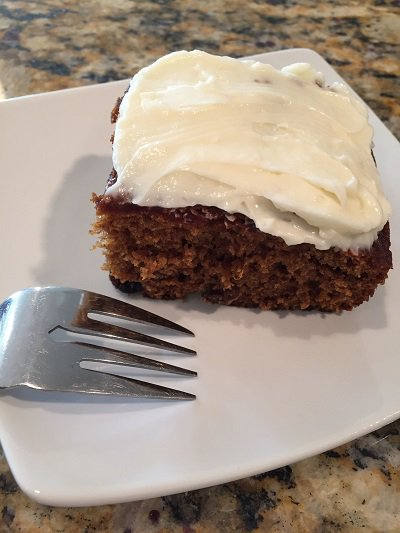 Rich Applesauce Cake by @DonnaFaz #Recipe for #Foodies