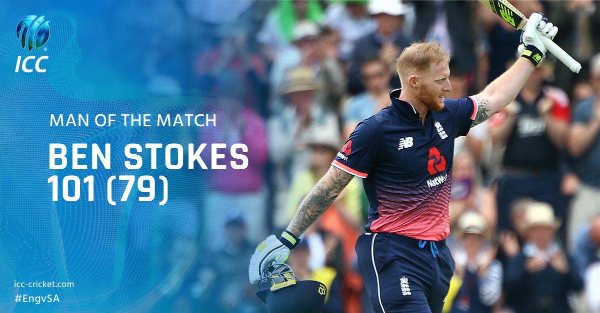The most in form all-rounder in the world right now? Man of the Match...