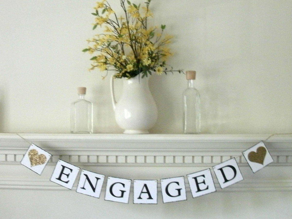 Engaged Banner Yellow Gold Glitter Hearts  https://www. etsy.com/listing/502598 132/engaged-banner-gold-glitter-engaged?ref=shop_home_active_1 &nbsp; …  #etsychaching #engaged #wedding #engagementbaner #bridetobe #bridalshower <br>http://pic.twitter.com/4dkouJaifX