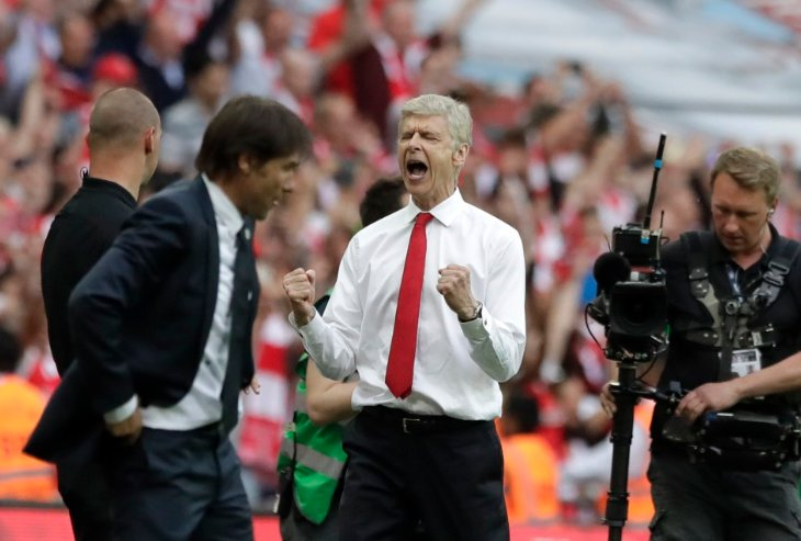 Венгер установил рекорд Кубка Англии