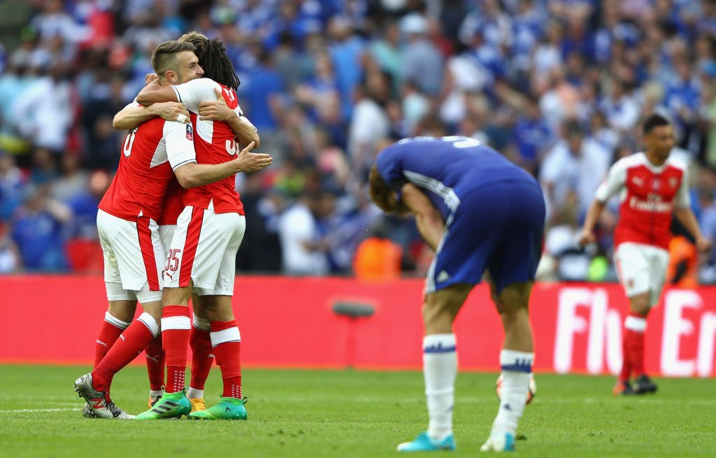 Piers Morgan reacts to Arsenal's 2-1 win over Chelsea on Twitter