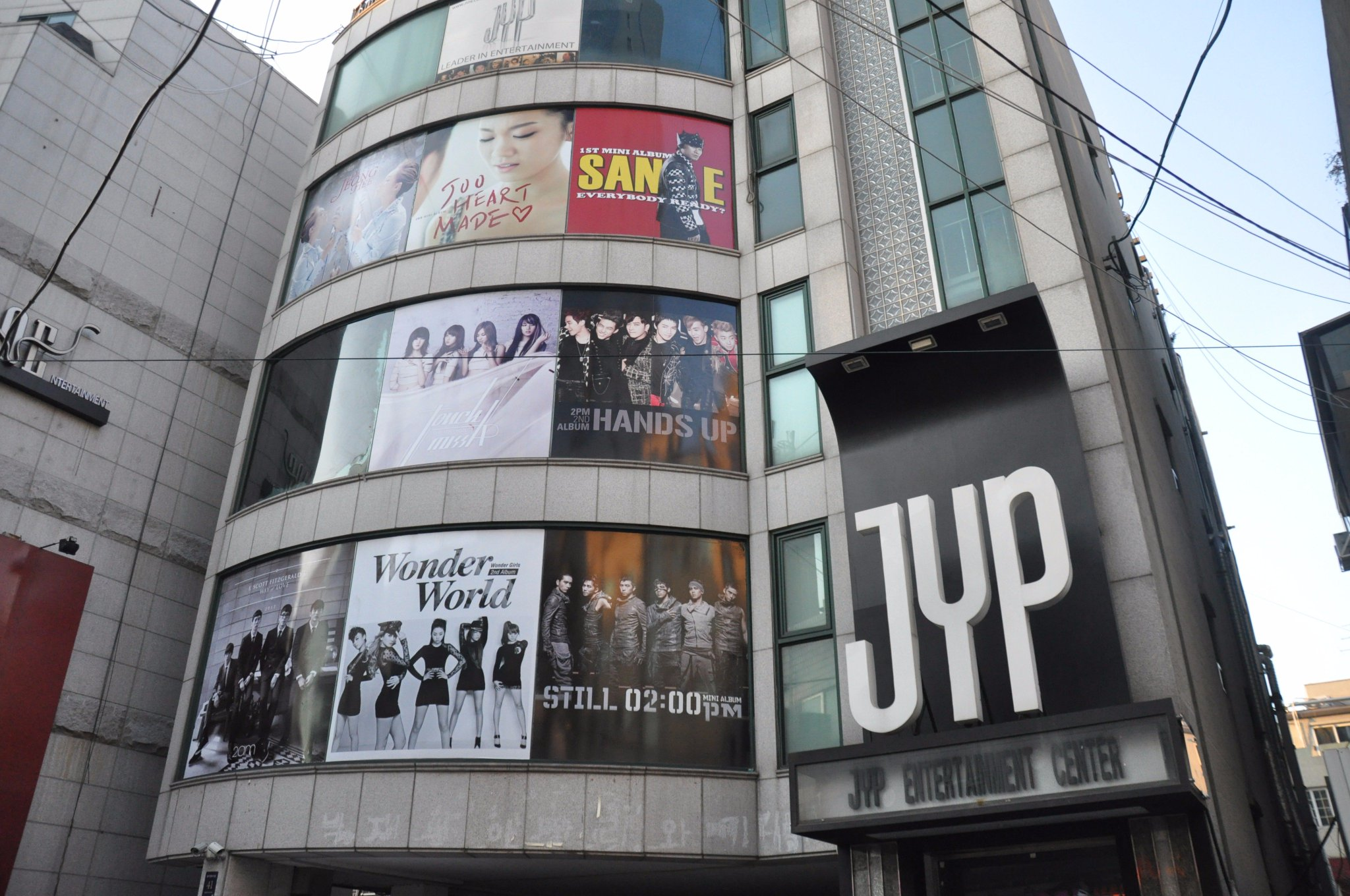 """allkpop on Twitter: """"JYP Entertainment to purchase and ..."""