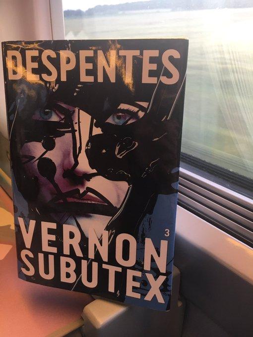 Soufflé par la puissance de #vernonsubutex3.  Une trilogie phénoménale.  Immense respect & merci à Virginie Despentes.