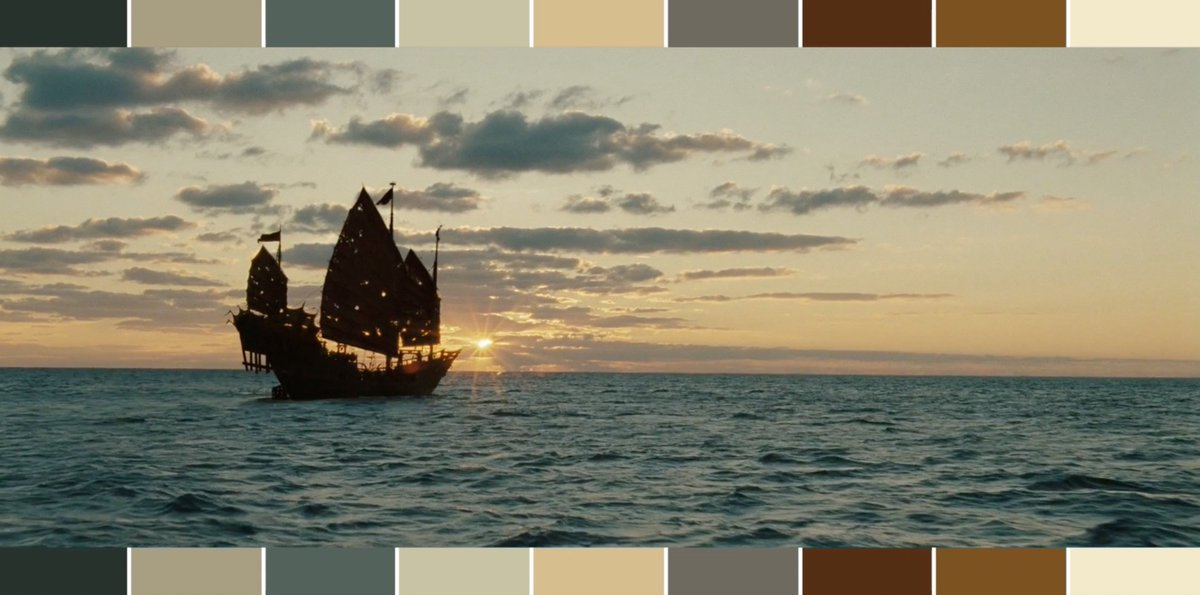 Colors in the #Pirates of the Caribbean films. #POTC #DeadMenTellNoTales #Disney #cinematography #color  https:// youtu.be/vCdirHngpWU  &nbsp;  <br>http://pic.twitter.com/Y51jksl7VT