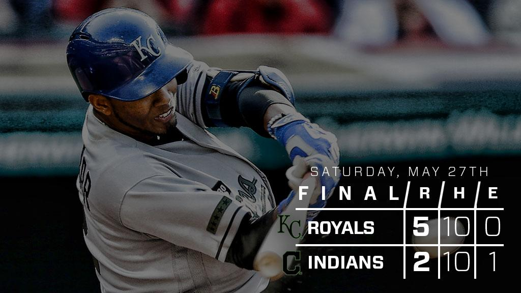 RECAP: #Royals take another one from Indians in comeback fashion: http...