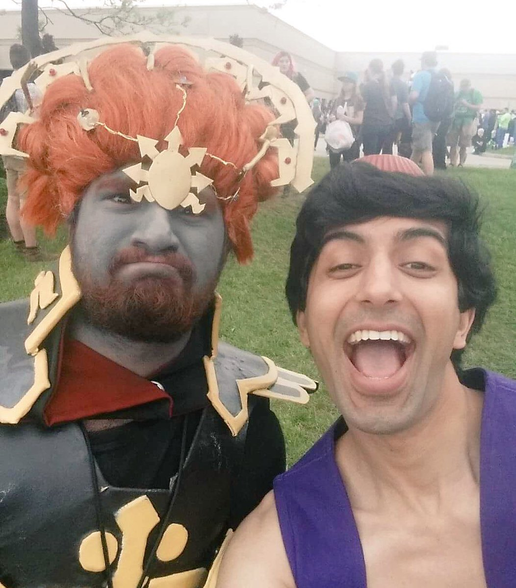 @das_hat was at #animenorth2017 today as #Aladin  Did you see him?   #AnimeNorth #Convention #Con #Anime #Disney #NerdlingRush<br>http://pic.twitter.com/tFnaALH0MV