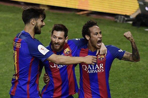 هدف برشلونة الثاني في مرمى ألافيس