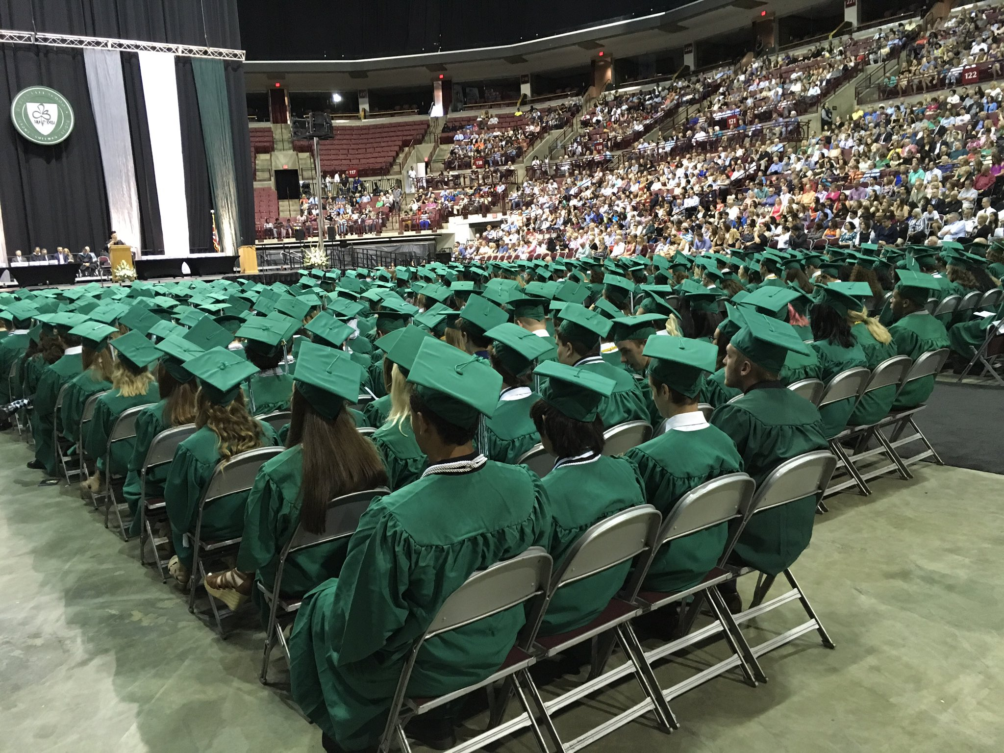 More than 430 students are graduating from @DublinCoffmanHS today. #DCSgrads17 https://t.co/DQTtrmVPcS
