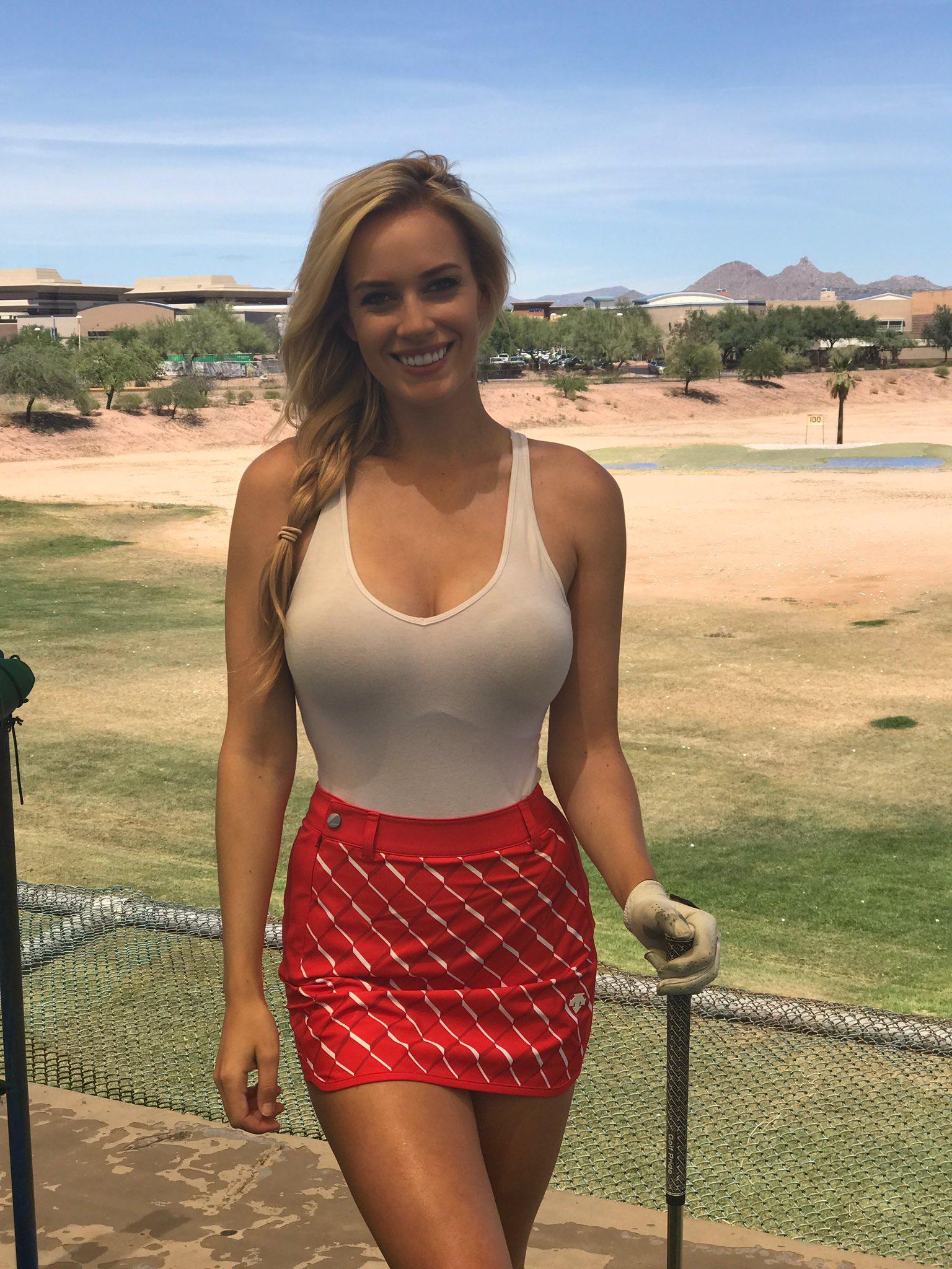 "Mini North Scottsdale >> Paige Spiranac on Twitter: ""Golf makes me smile...sometimes haha…"