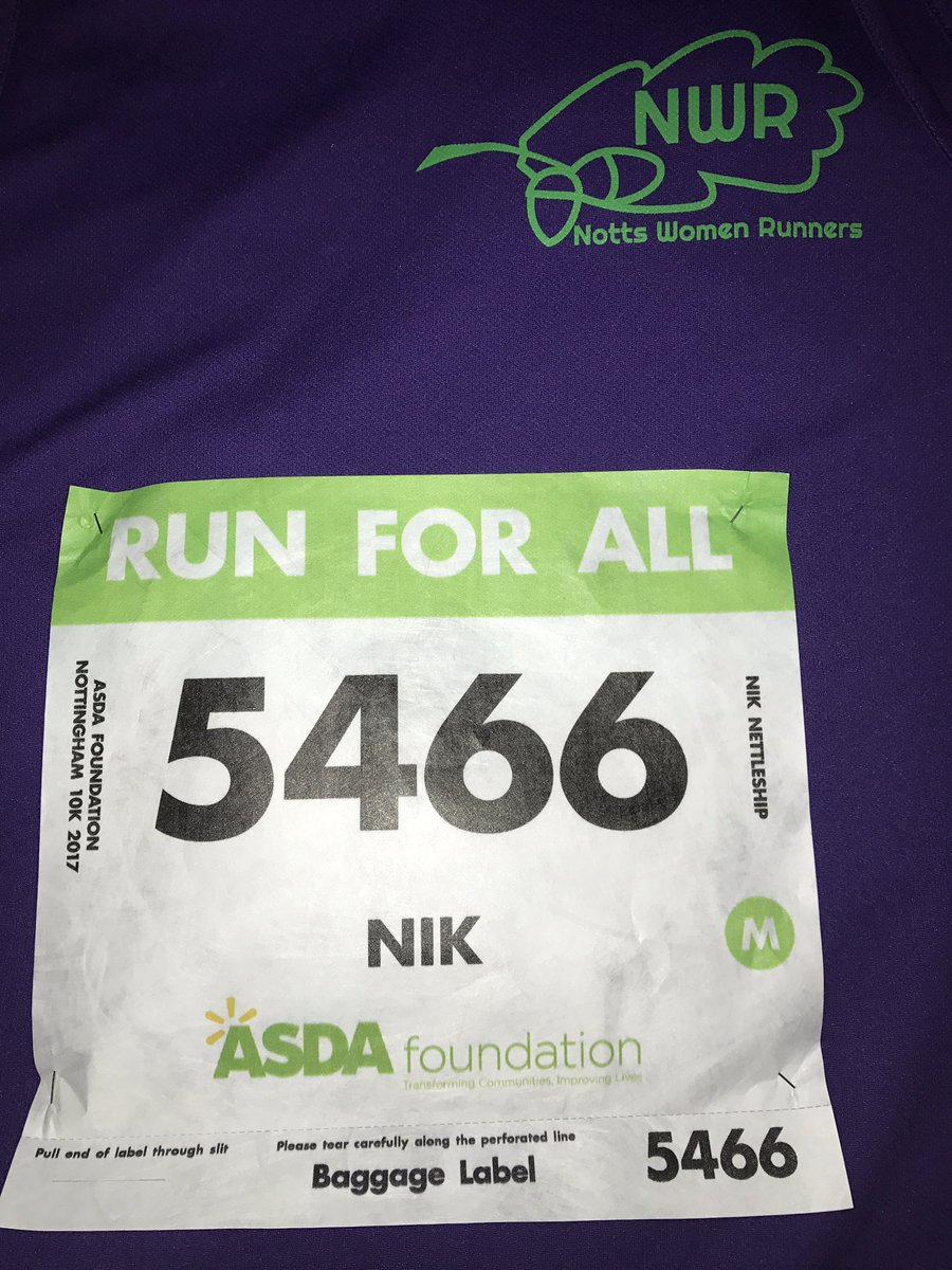 #Nottingham10k ...I'm coming to get you 🎗🏅 https://t.co/KJfuOhwzvd