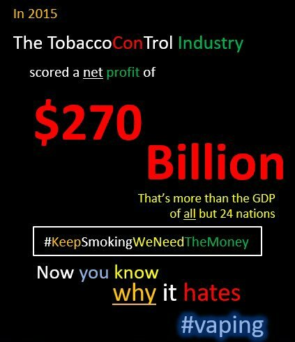 World&#39;s largest #con was borne out of #BigTobacco selling its customers to govts in exchange for monopoly protection posing as #health regs<br>http://pic.twitter.com/FPXEgRDz8g