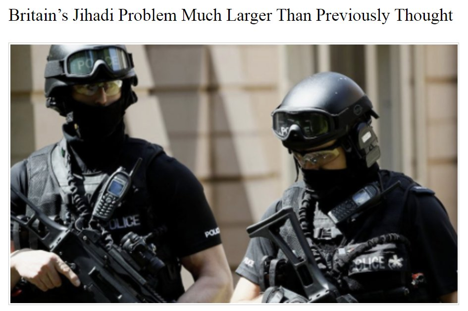 No, Britain's LIBERAL-DRIVEN idiotic 'we love Muslims' problem is much greater than previously thought!  https://t.co/iiSDMvU5RQ