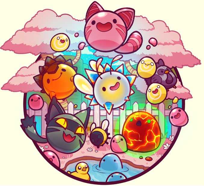 Kadabura On Twitter Quot Also Heres Some Tiny Slime Rancher