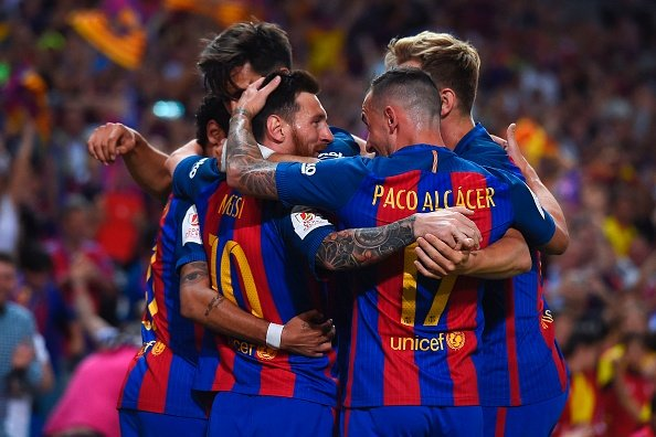FYI 2017-18 season&#39;s first match - #ElClasico  Not 1 game but 2..    Super Copa   #WeAreMessi<br>http://pic.twitter.com/LstnzHqtKL