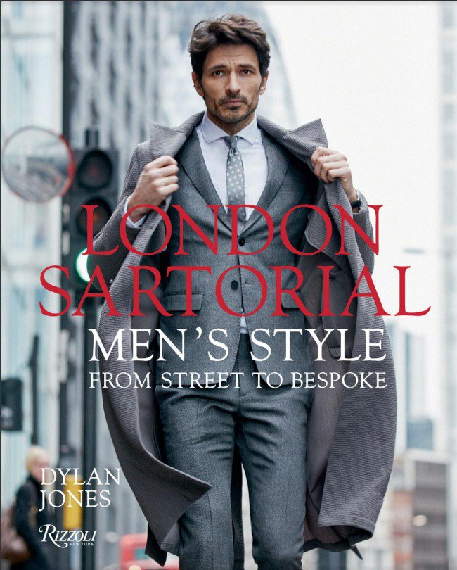 Andrés Velencoso on the book cover of London Sartorial by Dylan Jones. Photography by Daniel Riera. (April 2017) #bookcover #mensstyle <br>http://pic.twitter.com/iqFpTmaAgd