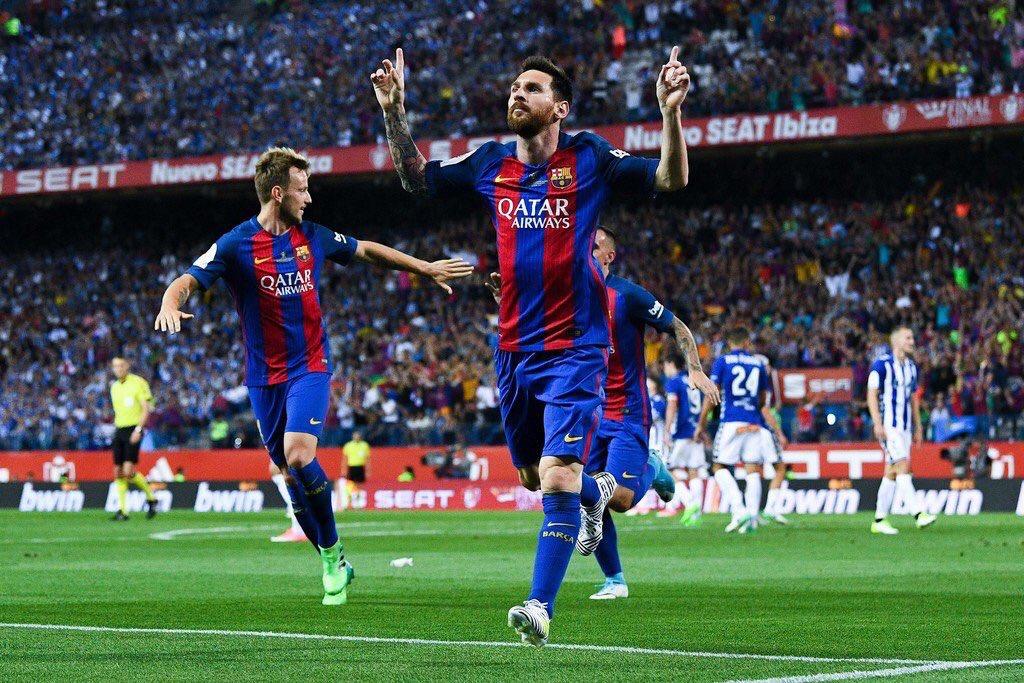 Al Barcellona di Messi la Coppa del Re: 3-1 al Deportivo Alavés