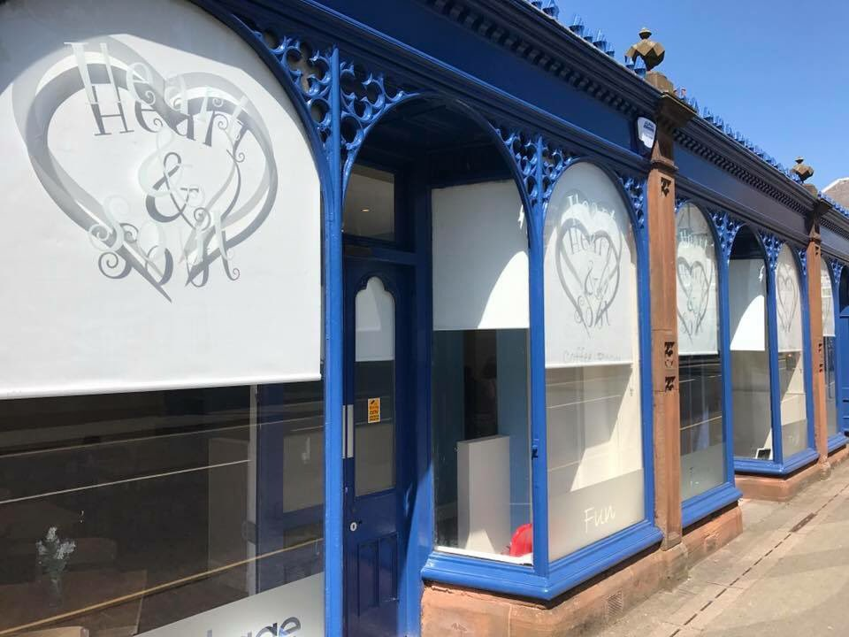 How excited are we to open the #heart&amp;soul cafe in Cumnock. This will be the most wonderful place. @RobertsonTrust @EAHSCP @EastAyrshire<br>http://pic.twitter.com/zqbHpyIgVc