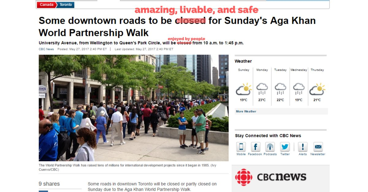 Here @cbcnews - I fixed this for you. Feel free to post as example in your newsroom. #walkto #biketo https://t.co/O4K8pUyJVH