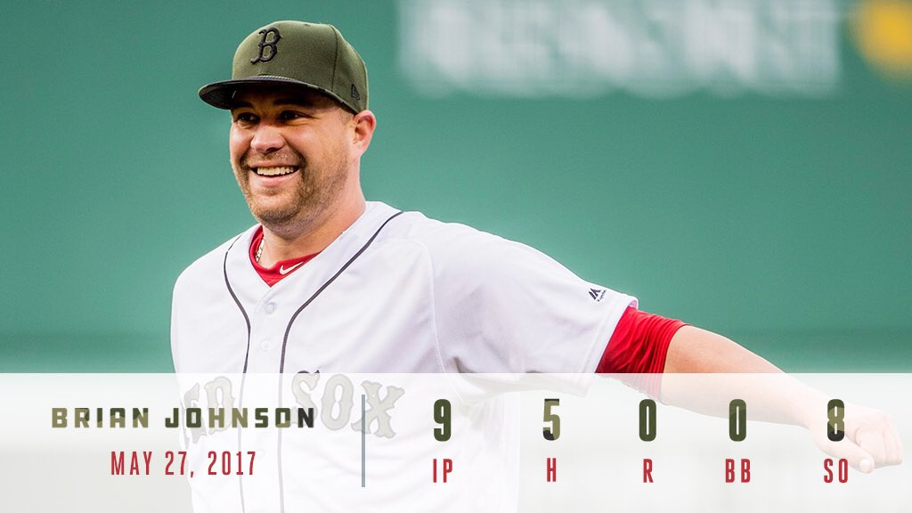 Welcome to Fenway, @Brian_Johnson35!