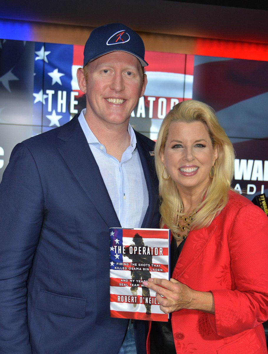 #NavySeal @mchooyah talks about killing #BinLaden, recent #Manchester attack and his new book #Operator! Joins me Sun. 6 &amp; 11AM @77WABCradio<br>http://pic.twitter.com/eHtHprgsWT