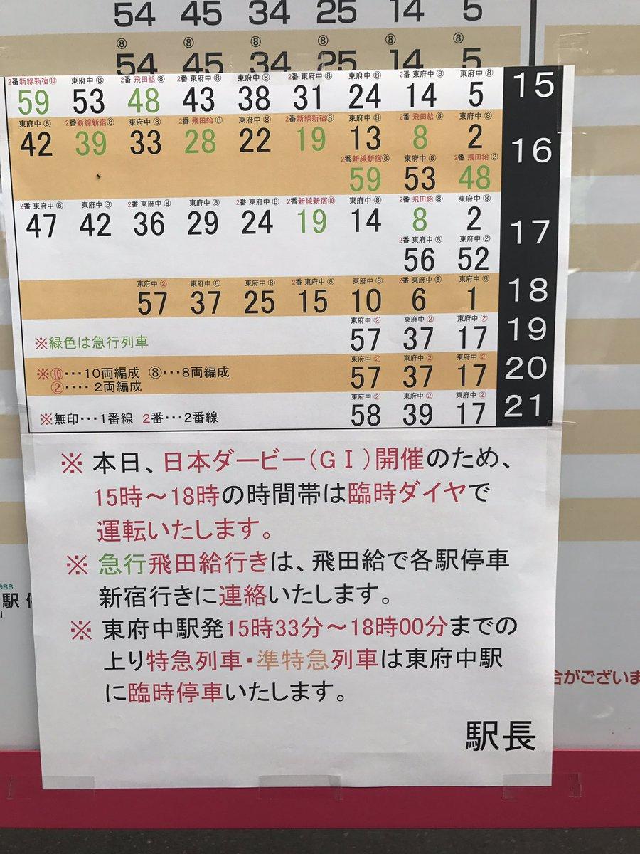 """しゃべってしゃべって60分 على تويتر: """"朝から人がいっぱいの東京競馬 ..."""