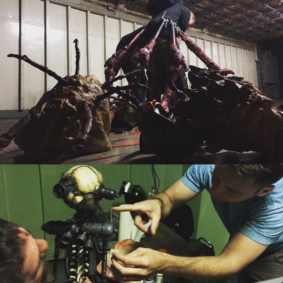 Getting it alive #Day6 #filming #Deathdrone #Spider #spaceship #filmmaking #SciFi #Horror #SpaceOpera #Hamburg #Hollywood #ViolentStarr<br>http://pic.twitter.com/WXIVwNnXtW