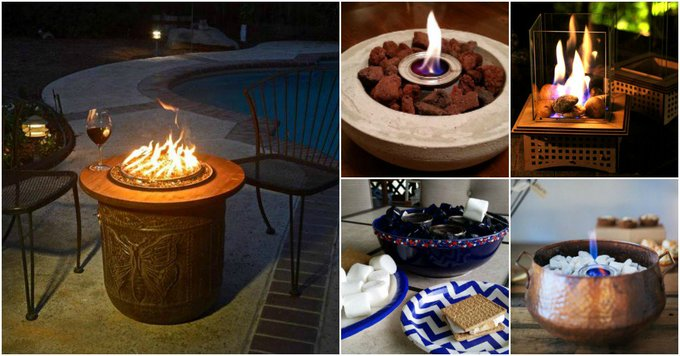 15 DIY Patio Fire Bowls That Will Make Your Summer Evenings Relaxing And Fun...