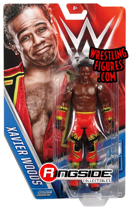 The #Mattel #WWE Series 64 @XavierWoodsPhD ushers in a #NEWDAY!  http://www. ringsidecollectibles.com/wwe-series-64- toy-figures-xavier-woods-mfa64-06.html &nbsp; …  #NewDayRocks #XavierWoods<br>http://pic.twitter.com/oY0iZLwGA0