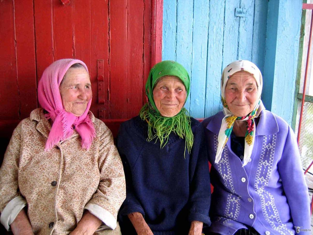 Русское видео пожилых