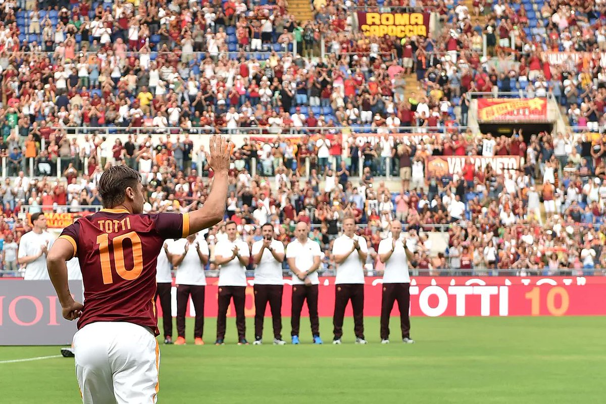 ROMA GENOA Streaming Gratis Rojadirecta: info YouTube Facebook, l'ultima partita di Totti