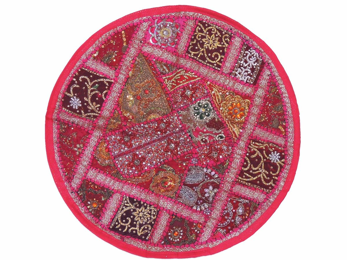 "novahaat, llc on twitter: ""magenta round floor pillowcase sari"